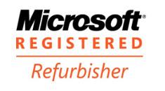Lien vers la page Microsoft Refurbisher